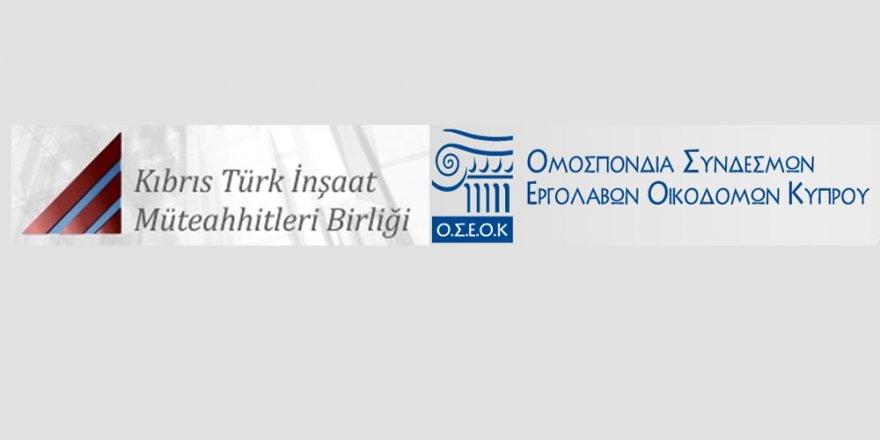 Kıbrıslı müteahhitlerden ortak çözüm çağrısı