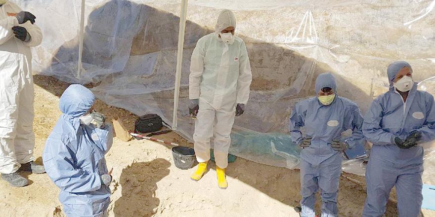 Atalassa kazılarının ilk aşaması tamamlandı, sıra antropolojik incelemede…