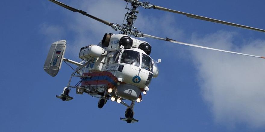 Rusya'dan kiralanan yangın söndürme helikopterleri Kıbrıs'ta