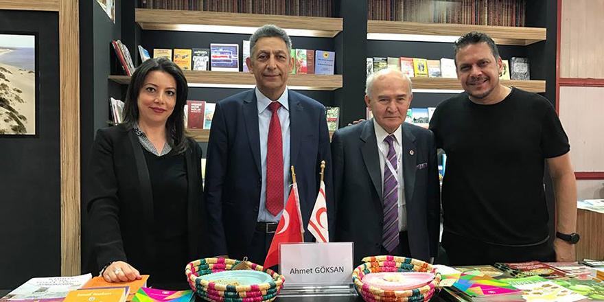 Kıbrıslı Türk eserler İzmir Kitap Fuarı'nda