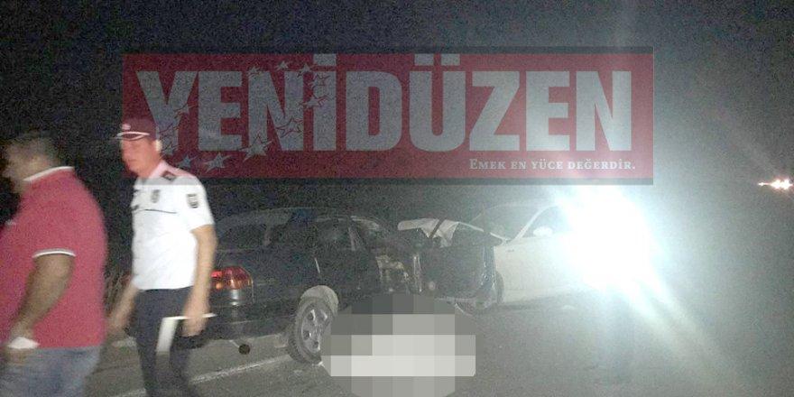 Serdarlı'da ölümlü kaza!