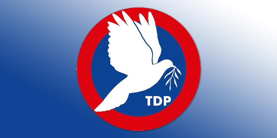 TDP'de tek aday Özyiğit