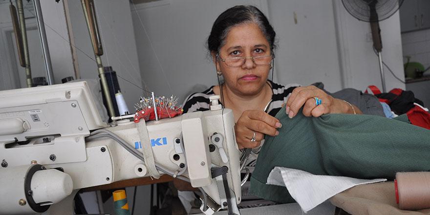 Terzihane'de dikiş makinesi önünde geçen bir ömür…