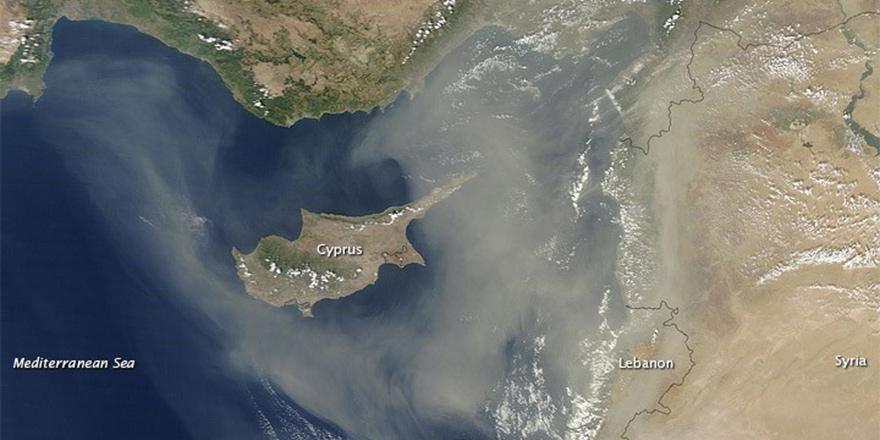Tropik fırtına Kıbrıs'ı etkilemeyecek