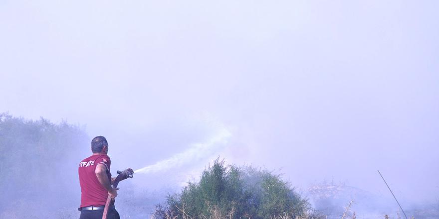 Taşköy'de korkutan yangın!