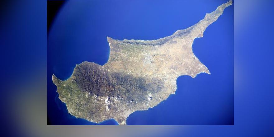 Kıbrıs uzaydan böyle görüntüledi
