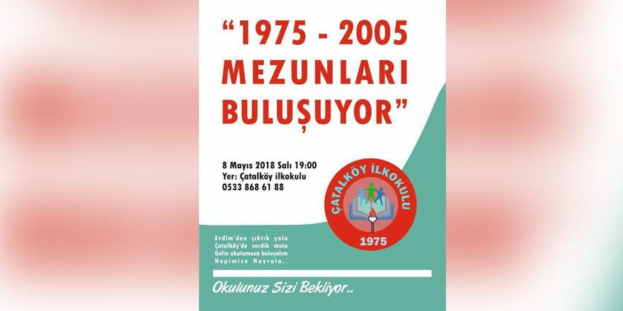 Çatalköy İlkokulu'nda anlamlı buluşma