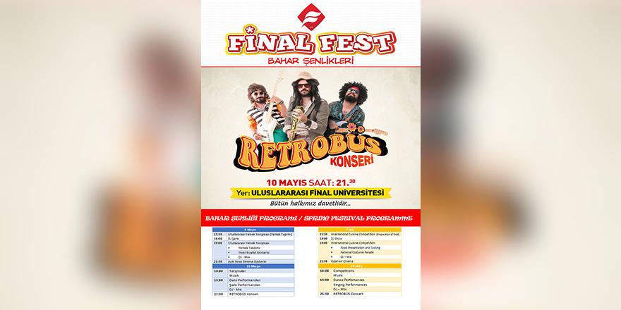 Retrobüs Grubu Final Fest Bahar Şenlikleri'nde