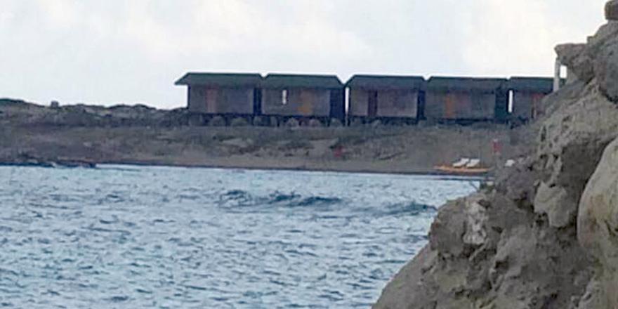 Karpaz'da 'şantiye bungalov' tartışması