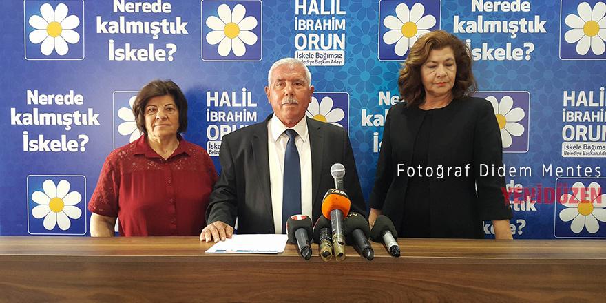 İskele'den Halil Orun bağımsız aday