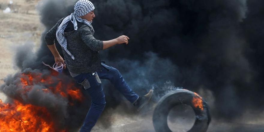 Gazze'de ABD Büyükelçiliği protestosu: 52 ölü