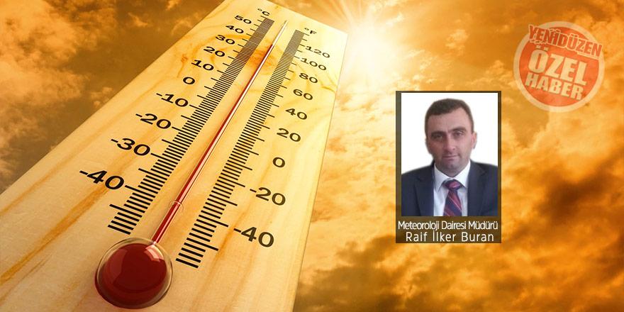 Sıcaklık mevsim normallerinin üzerinde