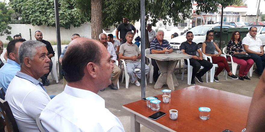 Karavezirler'e Gaziköy'den tam destek