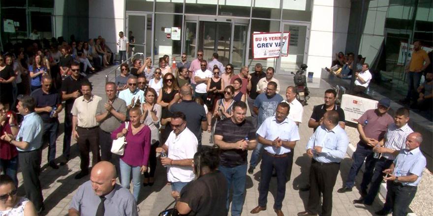 KTAMS Gelir ve Vergi Dairesi'nde greve gidileceğini açıkladı