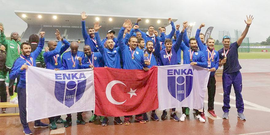 Yiğitcanlı ENKA Avrupa Şampiyonu