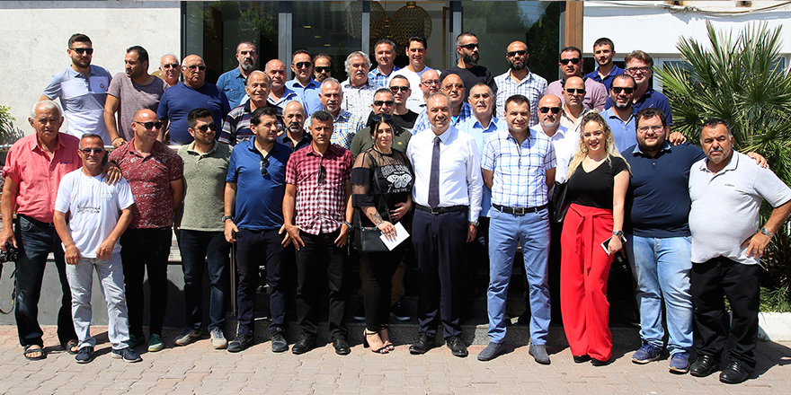 Hasan Sertoğlu,  Spor Yazarları ile bir araya geldi