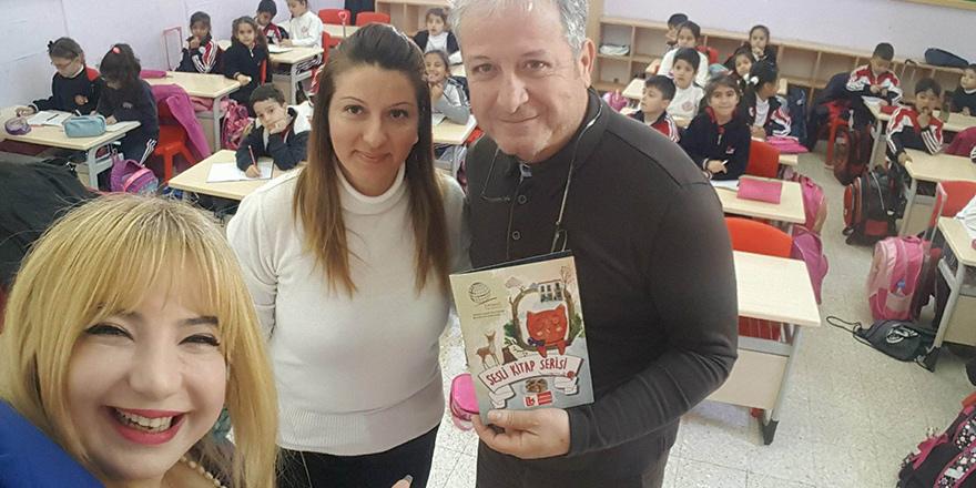 Sesli Kitap Serisi Okullarda