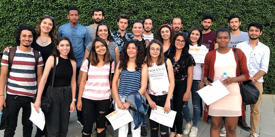 UKÜ öğrencileri çalıştayda yer aldı
