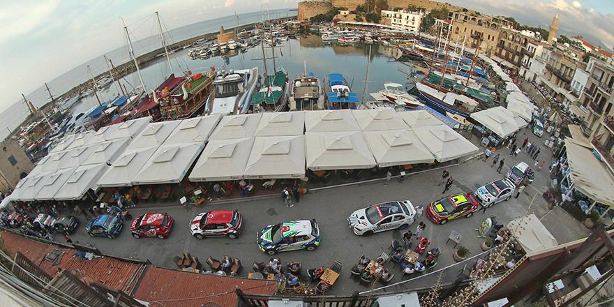 Kuzey Kıbrıs Rallisi'nde heyecan başladı