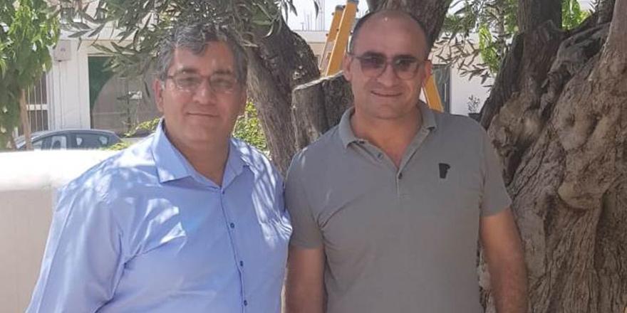 Gökçe, Derinya Belediye Başkanı Andros Karayiannis ile görüştü