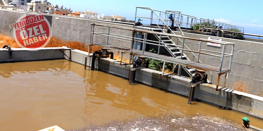 Günde 4 bin metreküp atık su denize pompalanıyor