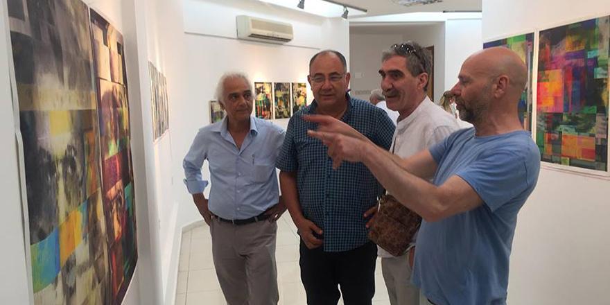 Sümer Erek '... yaşatma…' isimli enstelasyon çalışması açıldı