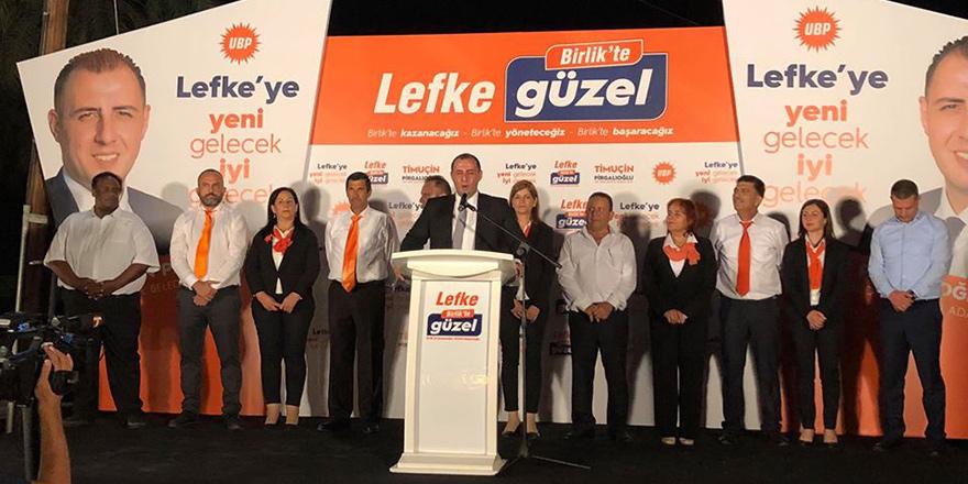 UBP, Lefke'de adaylarını tanıttı