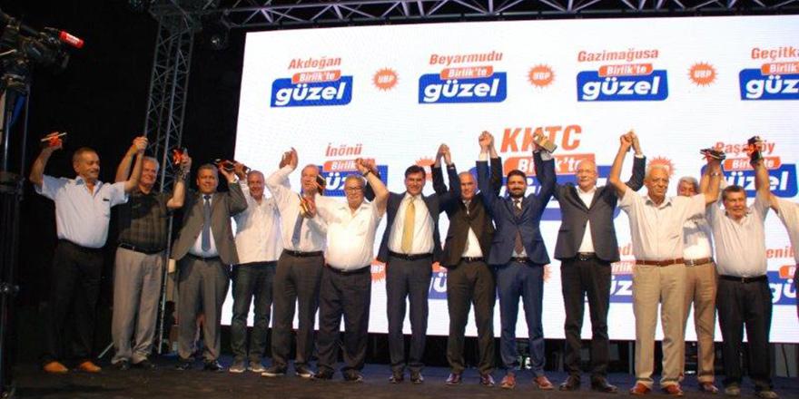 UBP, Mağusa'da adaylarını tanıttı