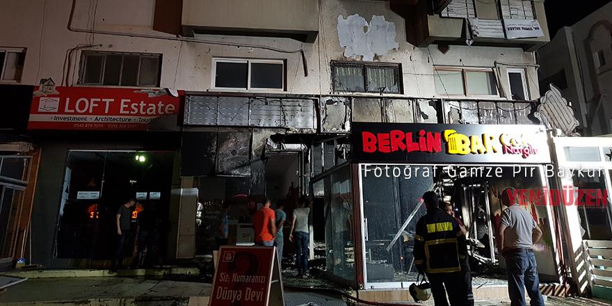Polis: Sigortadan para almak için iş sahibi yaktı