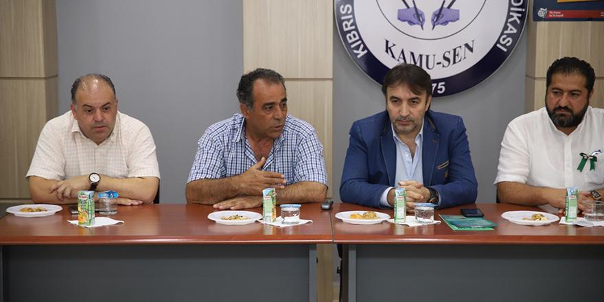 CTP'nin LTB Meclis Üyesi adayları sendika ziyaretlerini sürdürüyor