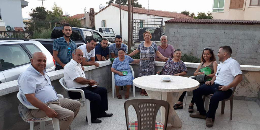 Aziz Kaya Doğancı'da: Trafik ve Köy Merkezi Düzenleme Projesi hazır