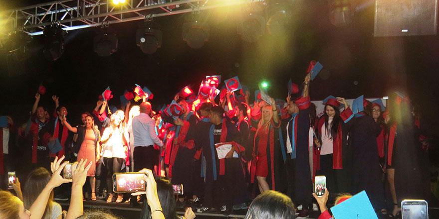 150 çırak ve yetişkin öğrenci mezun oldu