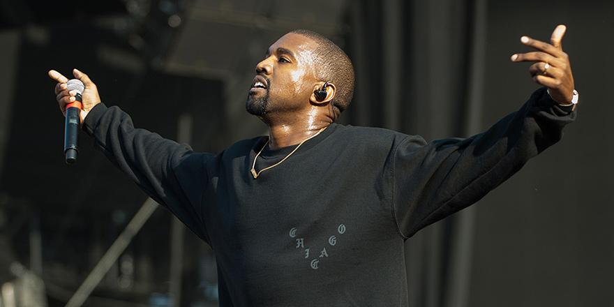 Dünyanın En İyi Rap Sanatçılarından Kanye West