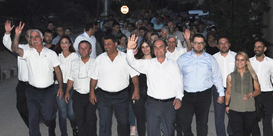 Karavezirler'den Minareliköy'de boy gösterisi