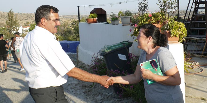 """Çelebi: """"Kıbrıs'ın en uzun bisiklet ve yürüyüş yolu Taşkent'ten geçecek"""""""