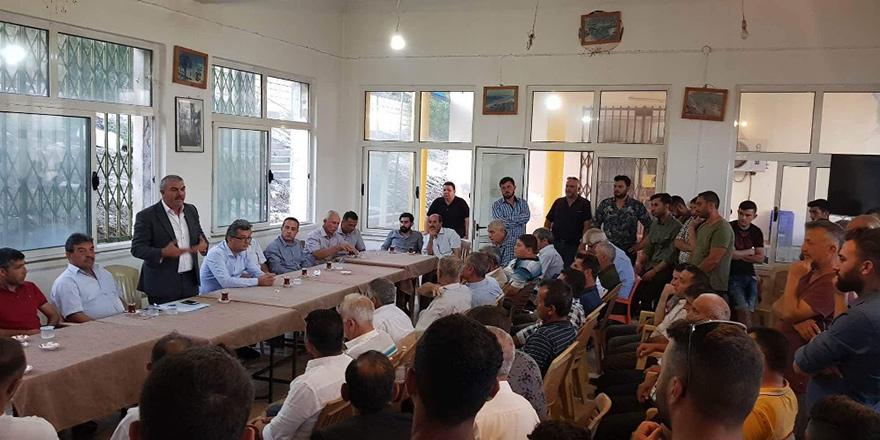CTP Dipkarpaz'da: Bölge halkı için çalışmaya devam