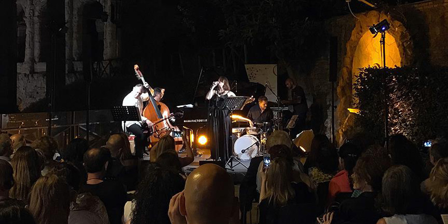 Rüya Taner, Roma Müzik Festivali'nde konser verdi