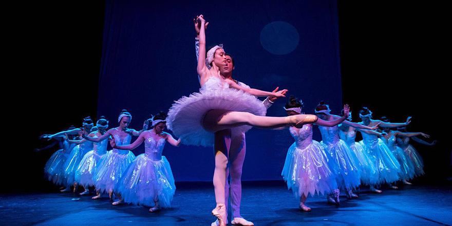 YDÜ'de Kuğularla Dans gösterisi