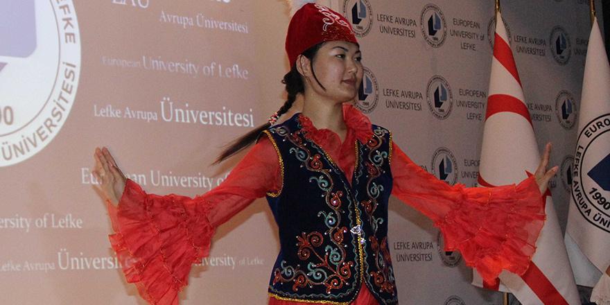 """LAÜ'de """"Orta Asya Gecesi"""" etkinliği düzenlendi"""