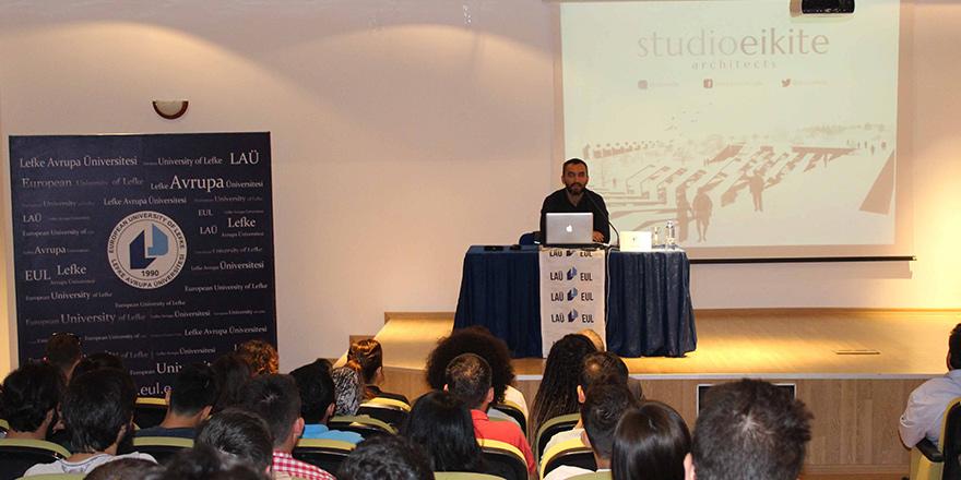 """LAÜ'de """"Mezunlar Anlatıyor"""" konulu seminer gerçekleşti"""