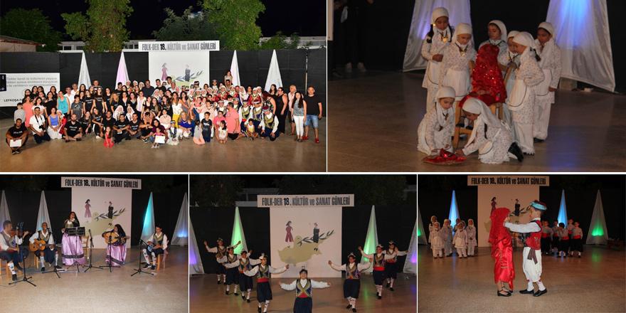 FOLK-DER'in  Kültür ve Sanat Günleri gerçekleştirildi