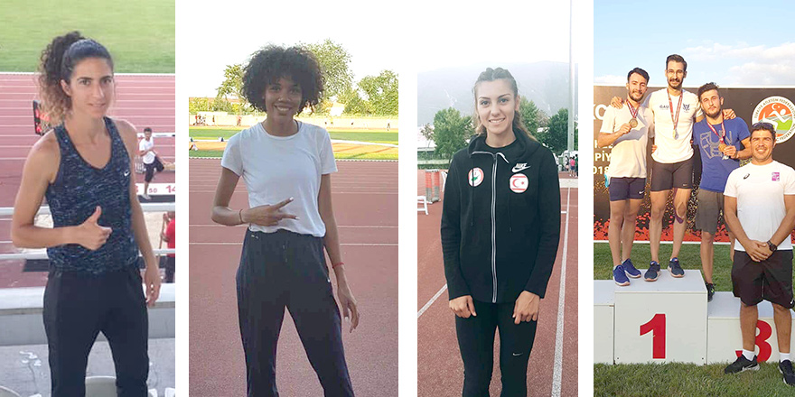 Atletlerimiz Bursa'yı salladı