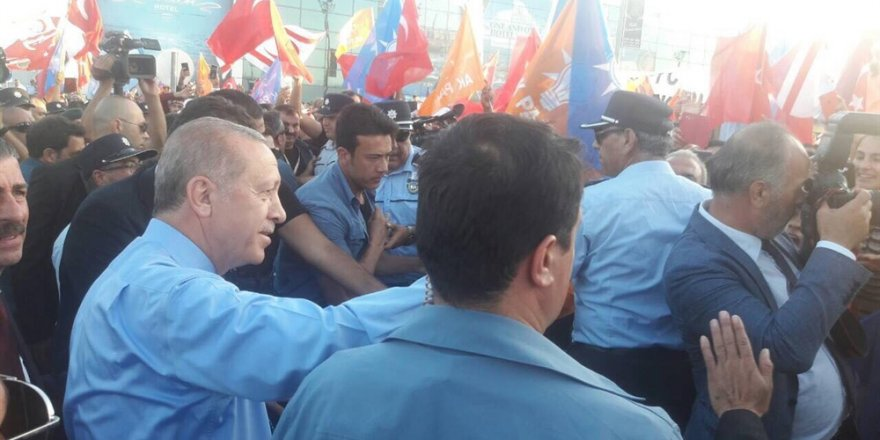 """Erdoğan: """"Kuzey Kıbrıs'ı çekim merkezi haline getireceğiz"""""""