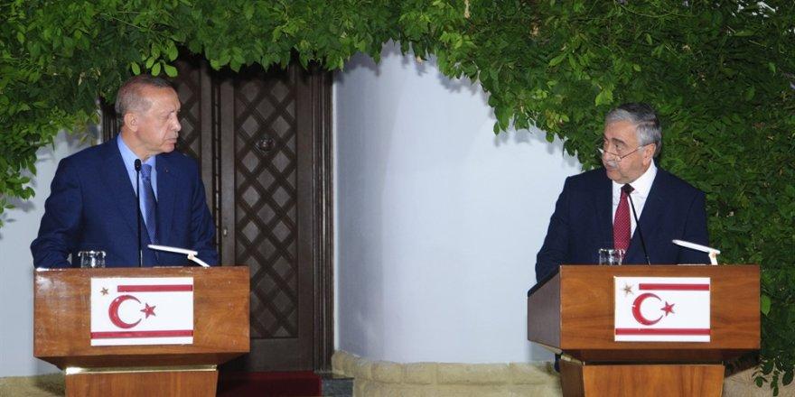 Erdoğan: Kıbrıs'ta çözüm son derece....