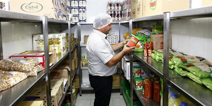 355 gıdanın tarihi geçti, 100 kg gıda imha edildi