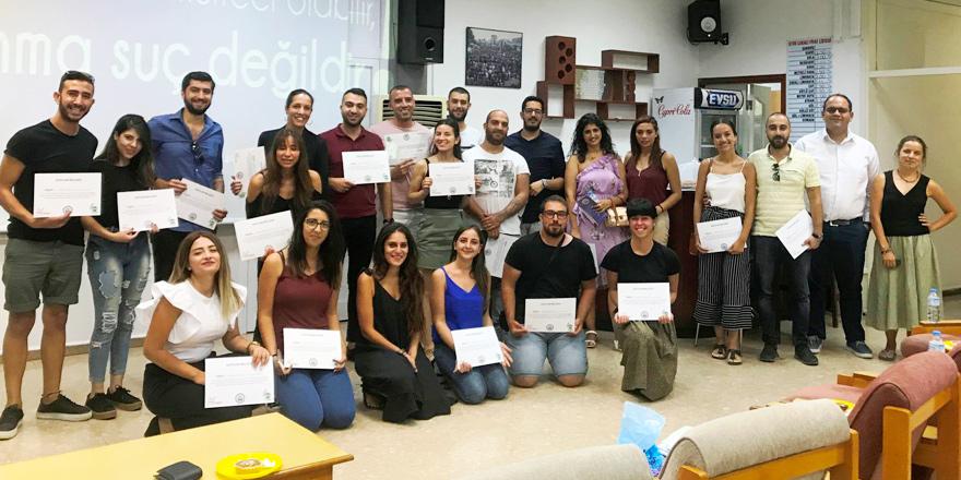 Gençler mülteci hakları konusunda eğitime katıldı