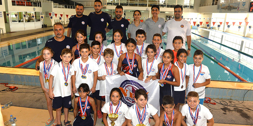Küçükler Yaz Kupası'nda yarıştı