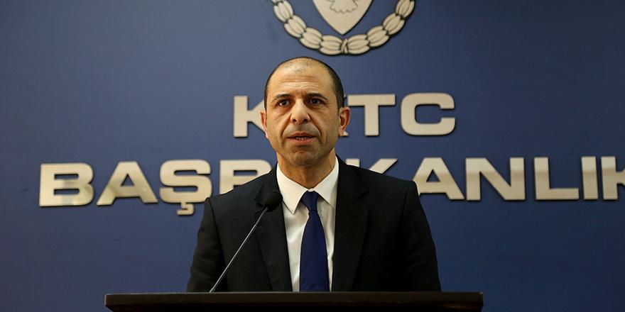 """""""Kıbrıs Türk halkının haklarını gasp etmeye çalışıyorlar"""""""
