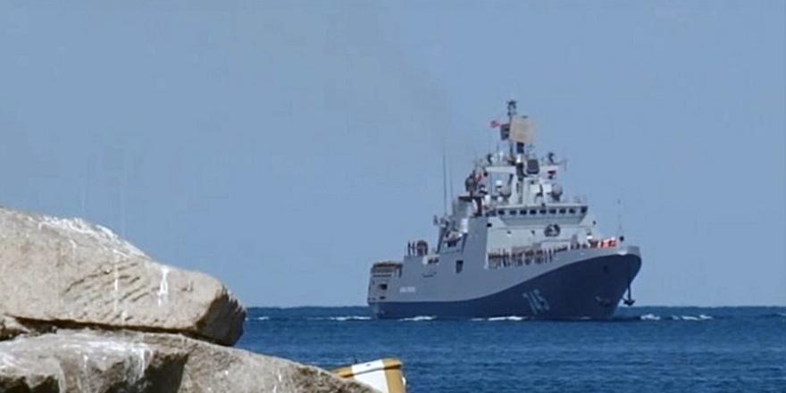 """""""Rus Donanması Kıbrıs yakınlarında"""""""