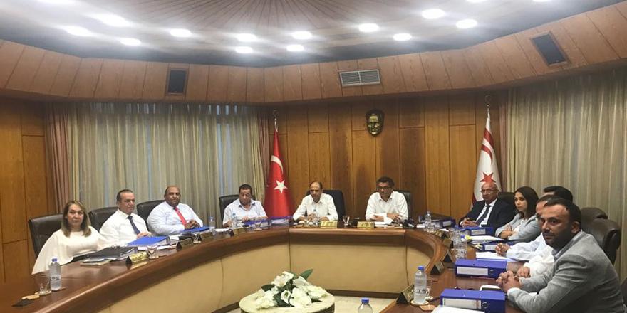 Bakanlar Kurulu Meclis'te toplandı